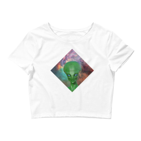 The Watcher - Women's Crop Tee