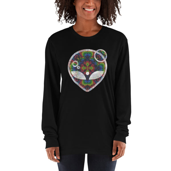 Rainbow Symbology Long sleeve t-shirt