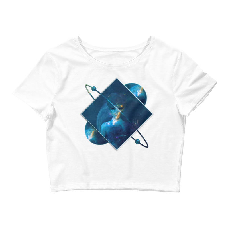 Orbital Transducer - Women's Crop Tee