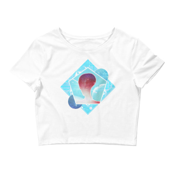 Cosmic Frontier - Women's Crop Tee