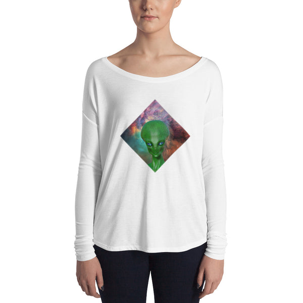 The Watcher - Ladies' Long Sleeve Tee
