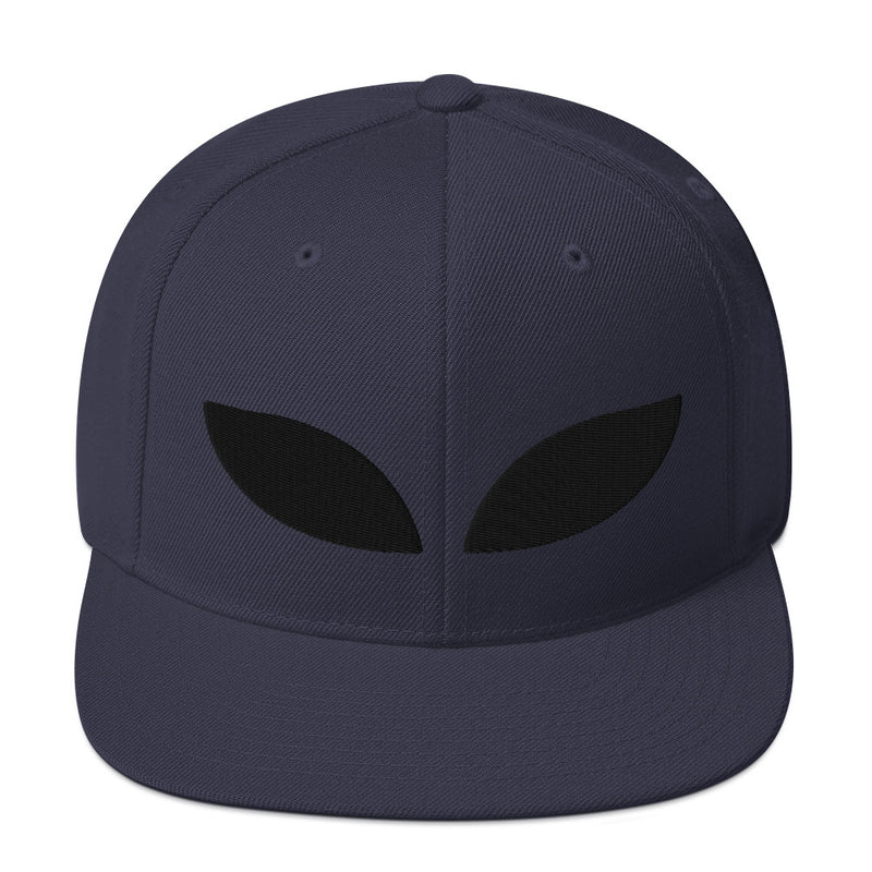 Alien Eyes Snapback Hat