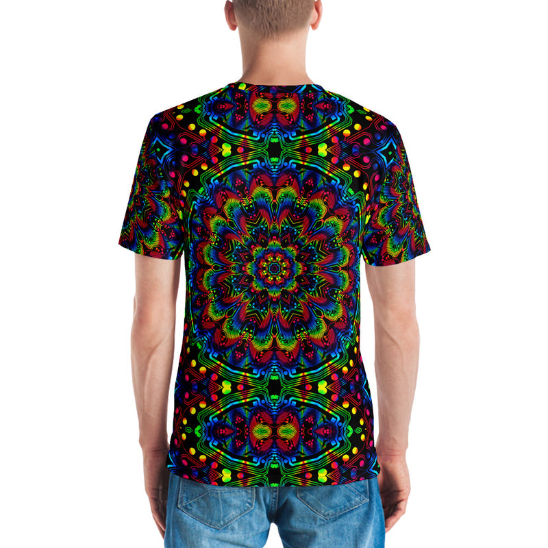 Circuit Mandala All Over Men's T-shirt