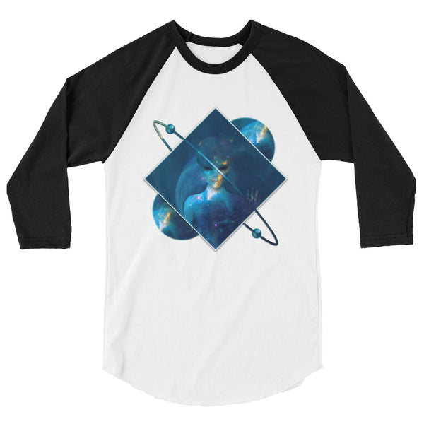 Orbital Transducer - Women's 3/4 sleeve raglan shirt