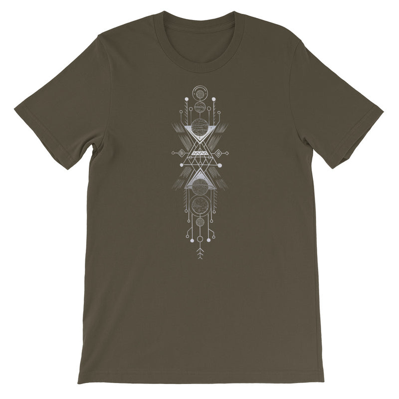 Interplanetary Geometry 1 - Short-Sleeve Unisex T-Shirt