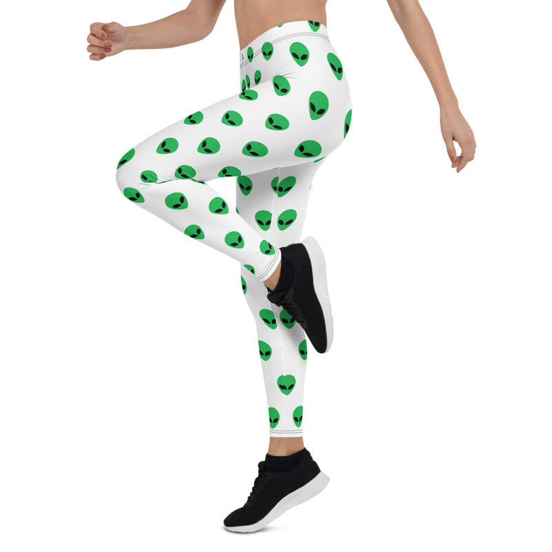 Green Alien Leggings