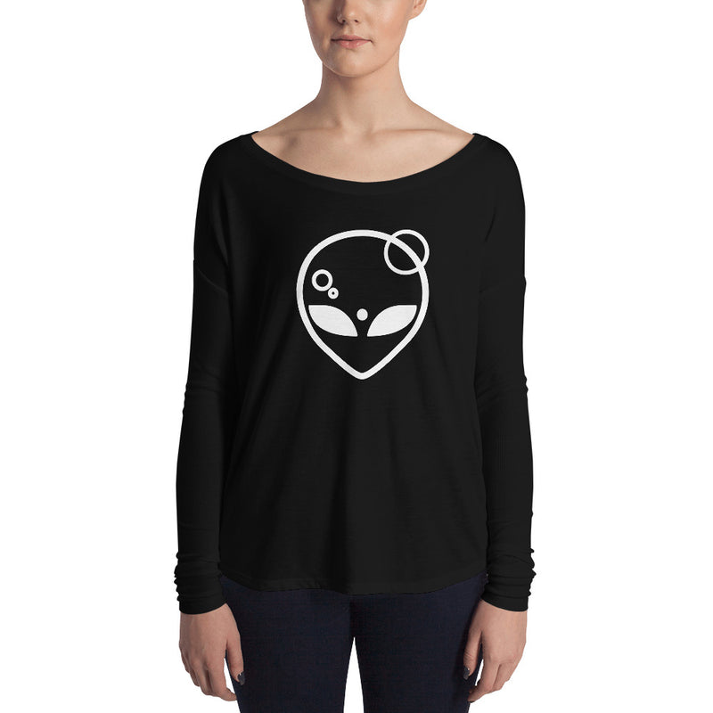 Alien Symbology Ladies' Long Sleeve Tee