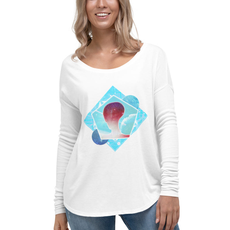 Cosmic Frontier - Ladies' Long Sleeve Tee