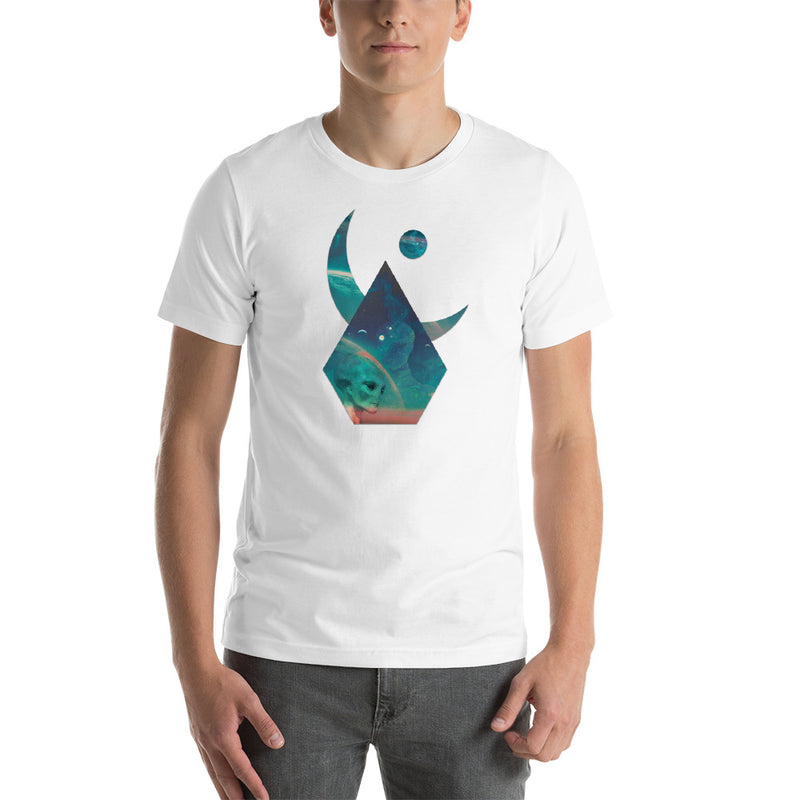 Lunar - Interpolation - Short-Sleeve Unisex T-Shirt