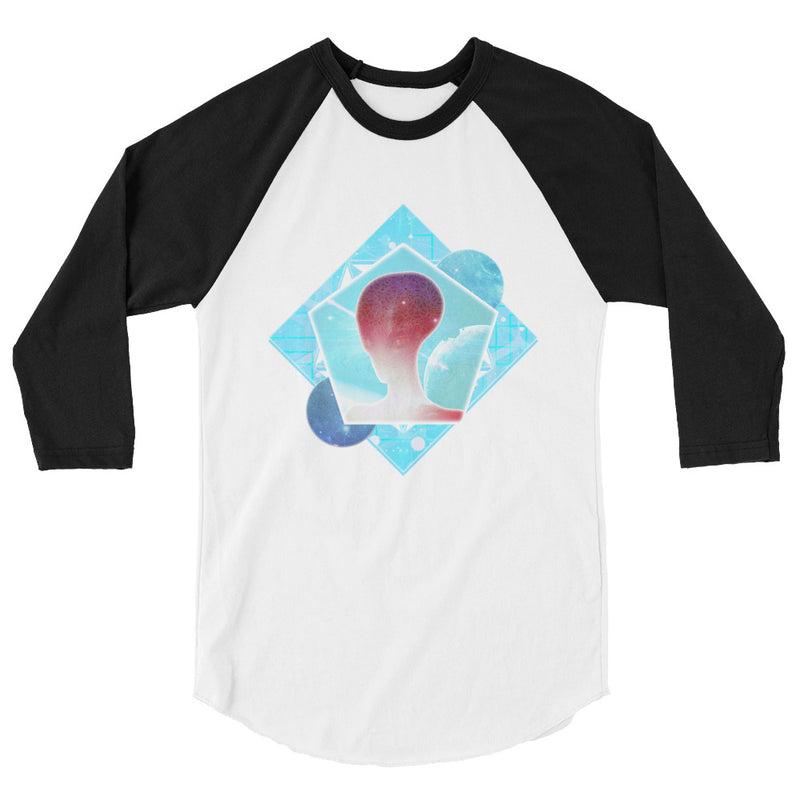 Cosmic Frontier - Women's 3/4 sleeve raglan shirt