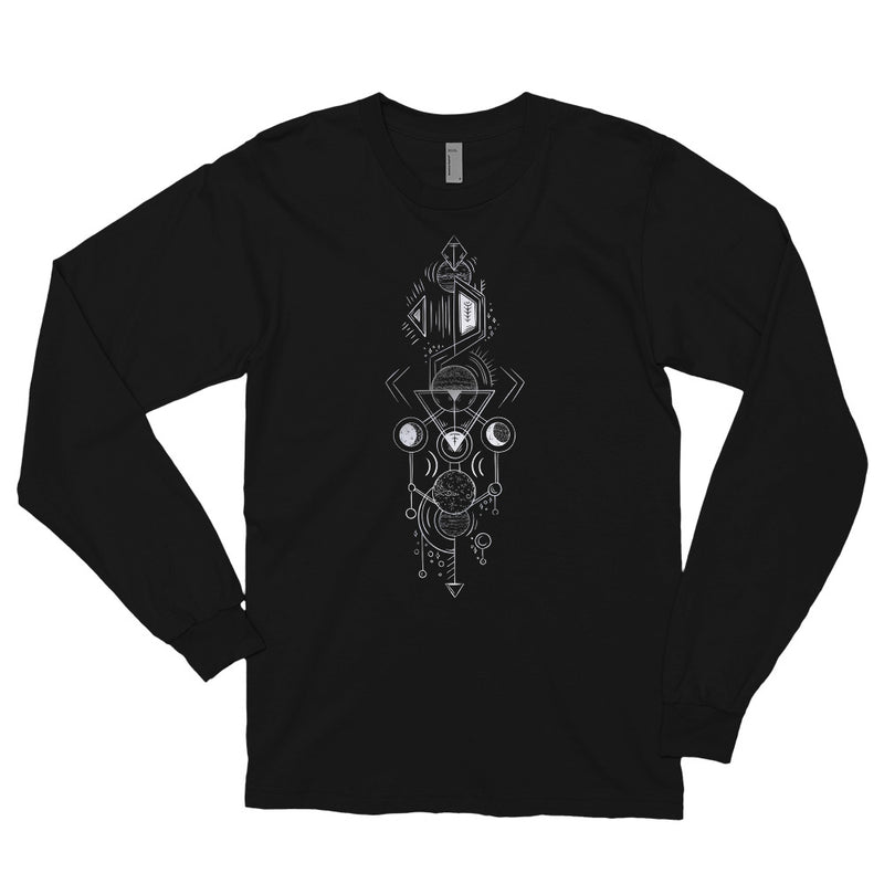 Interplanetary Geometry 2 - Long sleeve t-shirt