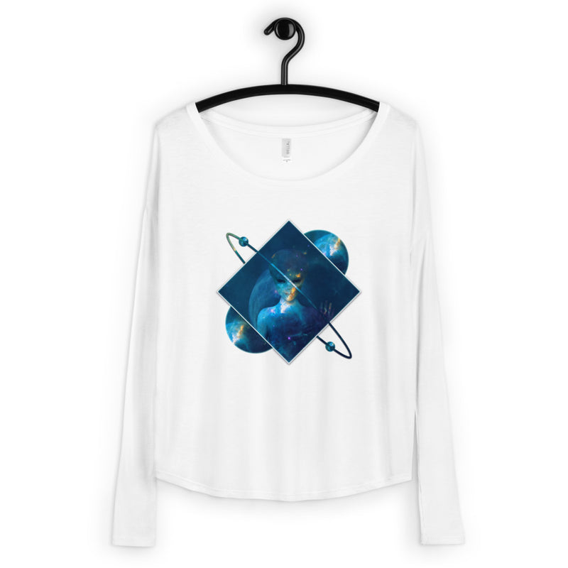 Orbital Transducer - Ladies' Long Sleeve Tee