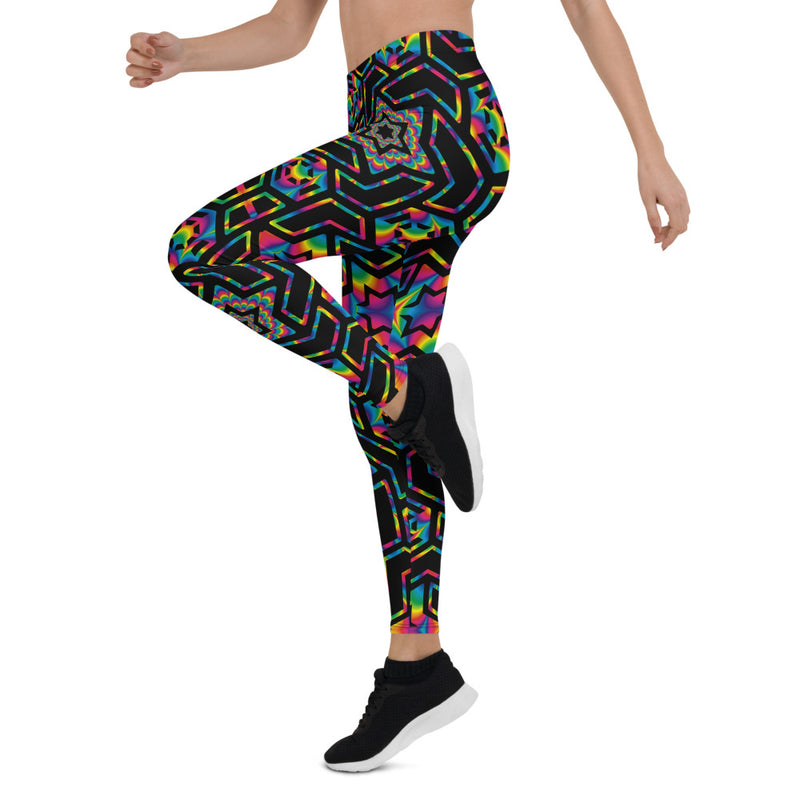 Rainbow Star Leggings