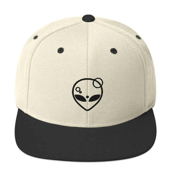 Alien Symbology Snapback Hat