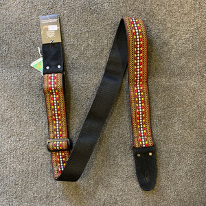 Colonial Jacquard Brown Strap