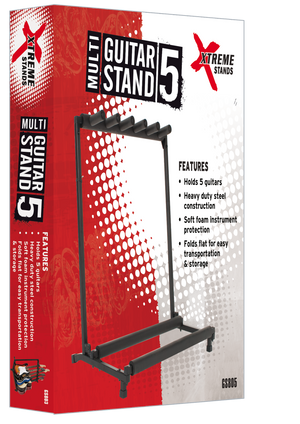 Xtreme 5 rack guitar stand