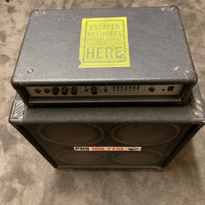 Ashton BA-150 Bass Amp with 4x10 cab.
