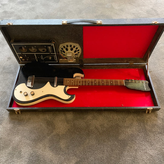 Silvertone 1448 1960's Amp In Case