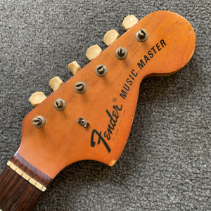 Vintage 1972 Fender Music Master guitar neck
