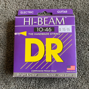 DR Electric Guitar Strings - HIGH BEAMS