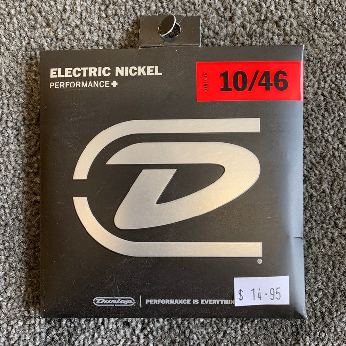 Jim Dunlop Electric Guitar Strings 10/46, 11/50 & 12/54