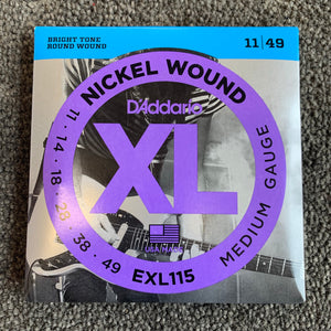 D'Addario Strings 11-49