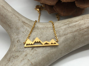 Rocky Mountain Necklace (3 Colors Available)