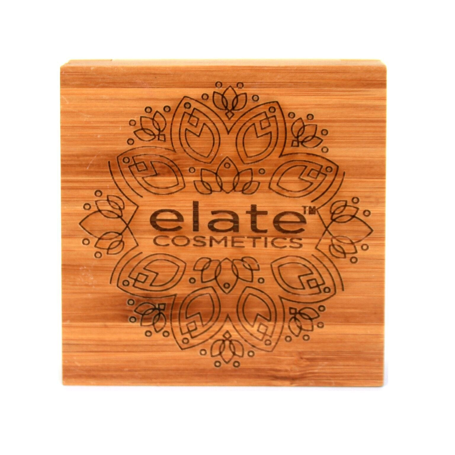 Elate Cosmetics Bamboo Square Compact
