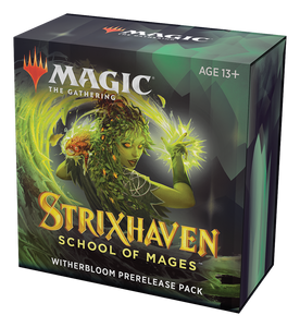 Strixhaven: School of Mages Prerelease Kit Witherbloom Green/Black