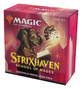 Strixhaven: School of Mages Prerelease Kit Lorehold Red/White