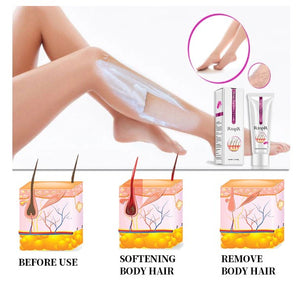 Mango Depilatory Cream Body Painless Effective Hair Removal Cream