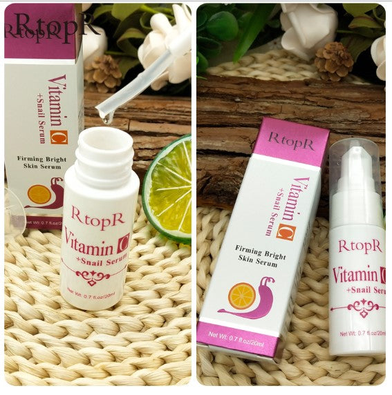 Vitamin C Snail Serum Rejuvenation Anti Wrinkle Firming Bright Skin Serum For Face Ance Treatment