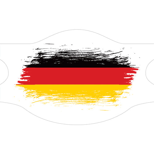Creamask, Masque alternatif protection grand public, Drapeau Allemagne