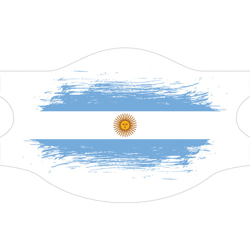Creamask, Masque alternatif protection grand public, Drapeau Argentine