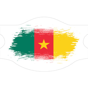 Creamask, Masque alternatif protection grand public, Drapeau Cameroun