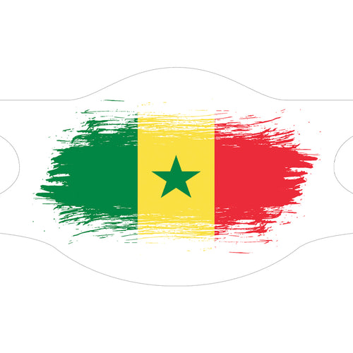 Creamask, Masque alternatif protection grand public, Drapeau Senegal