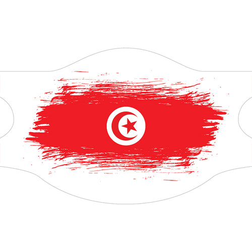 Creamask, Masque alternatif protection grand public, Drapeau Tunisie