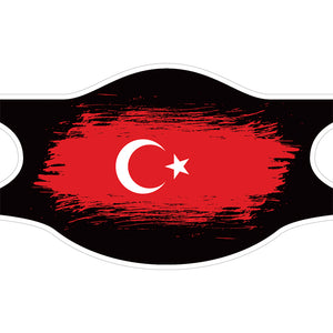 Creamask, Masque alternatif protection grand public, Drapeau Turquie
