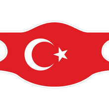 Charger l'image dans la galerie, Creamask, Masque alternatif protection grand public, Drapeau Turquie