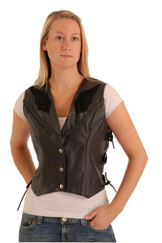 Leather Vests & Tops (Women's)