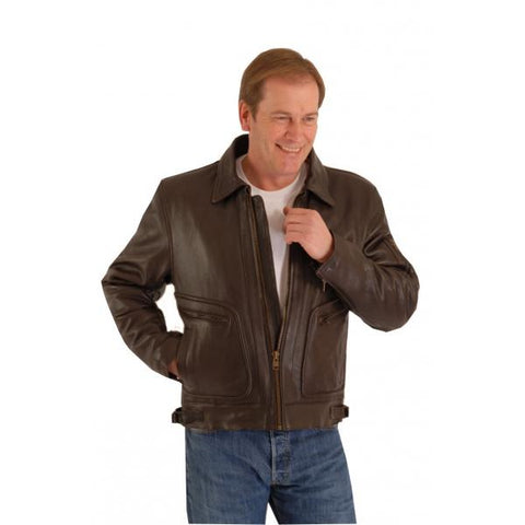 CLASSIC FLYING  PILOT LEATHER JACKET AVIATOR 159