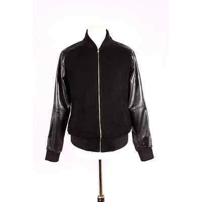 Leather&Sued Bumber Jacket Princton 3005
