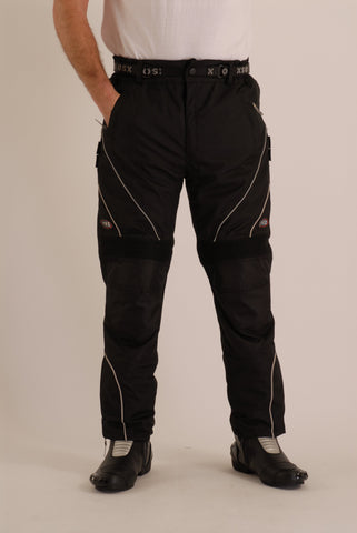 TEXTILE-WATERPROOF MOTORCYCLE TROUSER ALL SEASON - COBRA 331F
