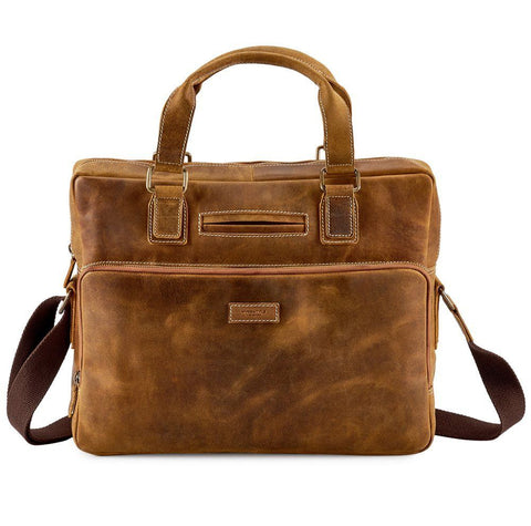 Distressed Leather All Collections, Men, Messenger / Laptop bags 4974