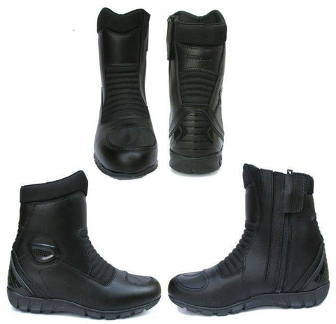 MOTORBIKE SHORT BOOT WATER PROOF EASY 812