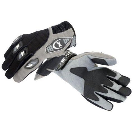 MOTOCROSS RACING GLOVE THUMBSCREW BLK/GRAY BLK/BLU  BLK/RED 908