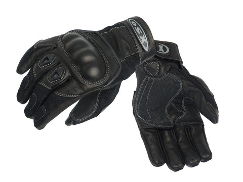 PYTHON SUMMER MOTORCYCLE LEATHER GLOVES 930
