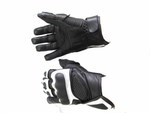 M/C LEATHER SHORT CYBER  GLOVE 938