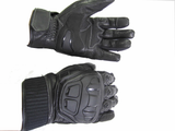 MOTORCYCLE SHORT LEATHER GLOVE TERMINATOR 939
