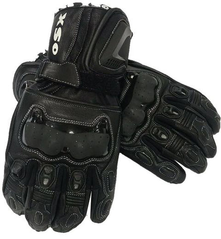 Motorcycle Leather Glove CE Approved Gloves-Savage 945